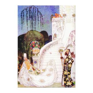 Kay Nielsen's Cinderella Leaving the Ball Canvas Print