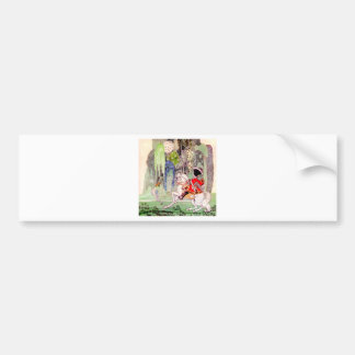 Kay Nielsen's Fairy Tale Prince Charming Car Bumper Sticker