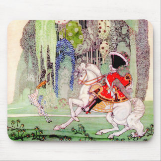 Kay Nielsen's Fairy Tale Prince Charming Mouse Pad