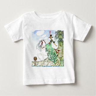 Kay Nielsen's Fairy Tale Princess Minotte Baby T-Shirt