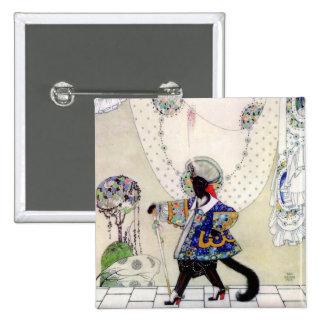 Kay Nielsen's Fairy Tale Puss In Boots Button
