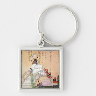 Kay Nielsen's Night In A Chinese Garden Keychain
