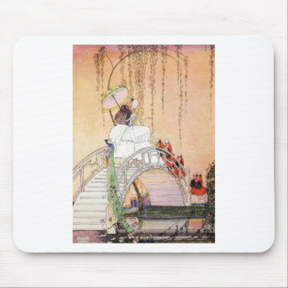 Kay Nielsen's Night In A Chinese Garden Mouse Pad