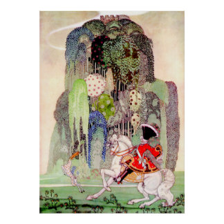 Kay Nielsen's Prince Charming from Sleeping Beauty Posters