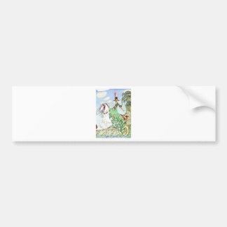 Kay Nielsen's Princess Minotte Fairy Tale Bumper Sticker
