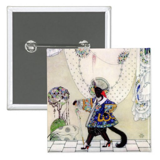 Kay Nielsen's Puss In Boots Button