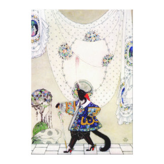 Kay Nielsen's Puss In Boots Canvas Print