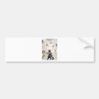 Kay Nielsen's Puss In Boots Car Bumper Sticker