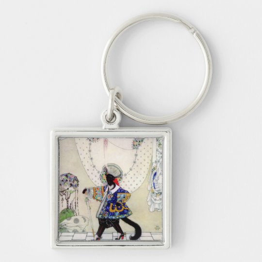 Kay Nielsen's Puss In Boots Keychain