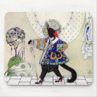 Kay Nielsen's Puss In Boots Mouse Pad