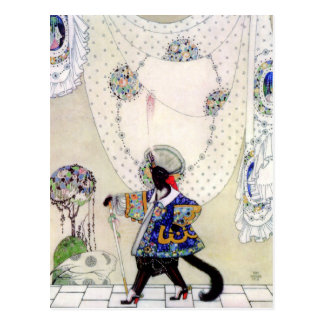 Kay Nielsen's Puss In Boots Postcard