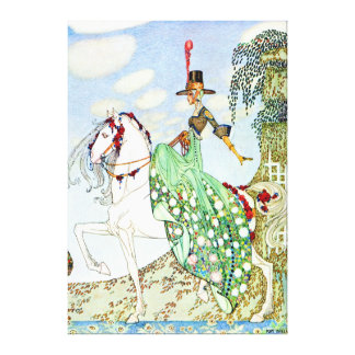 Kay Nielsen's The Beautiful Princess Minotte Canvas Print