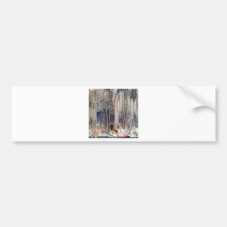 Kay Nielsen's The Twelve Dancing Princesses Bumper Sticker