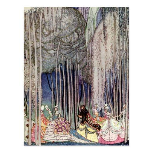 Kay Nielsen's The Twelve Dancing Princesses Postcards
