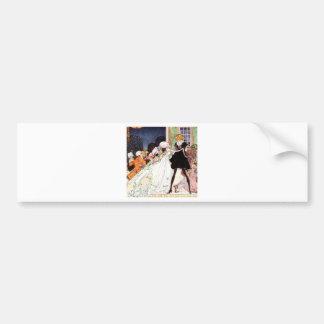 Kay Nielsen's Twelve Dancing Princesses Bumper Sticker