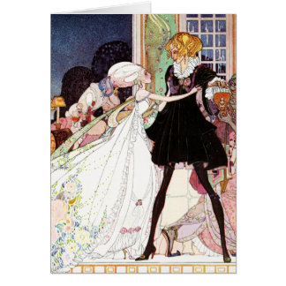 Kay Nielsen's Twelve Dancing Princesses Card