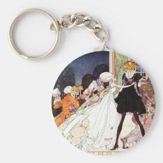 Kay Nielsen's Twelve Dancing Princesses Keychain