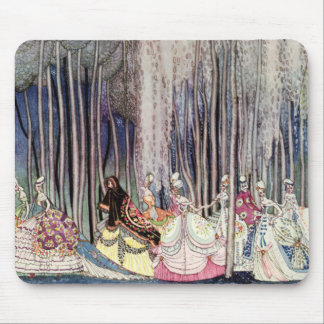 Kay Nielsen's Twelve Dancing Princesses Mouse Pad