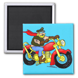 Kay on the way 2 inch square magnet