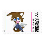 __Kay_the_fox___by_techno_cat Postage Stamp