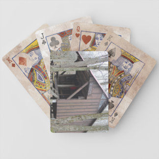 Kay Wood Shelter Appalachian Trail Playing Cards