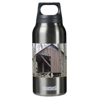 Kay Wood Shelter Appalachian Trail Reusable Bottle 10 Oz Insulated SIGG Thermos Water Bottle