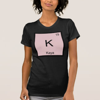 Kaya  Name Chemistry Element Periodic Table T-shirt