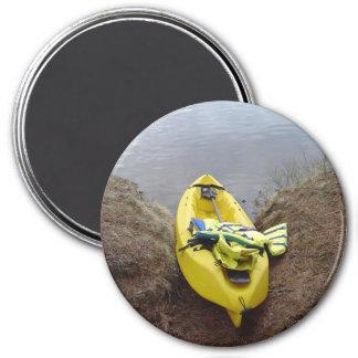 Kayak 3 Inch Round Magnet
