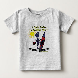 Kayak A Quiet Paddle Waves Baby T-Shirt