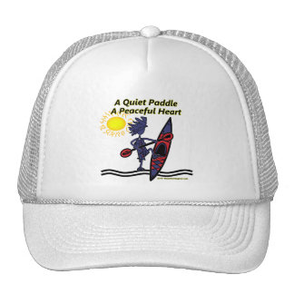 Kayak A Quiet Paddle Waves Hats
