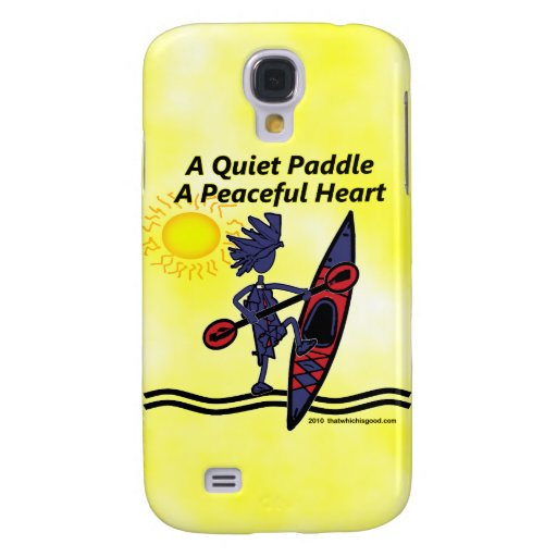 Kayak A Quiet Paddle Waves Samsung Galaxy S4 Covers