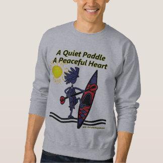 Kayak A Quiet Paddle Waves Sweatshirt