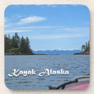 Kayak Alaska Drink Coaster
