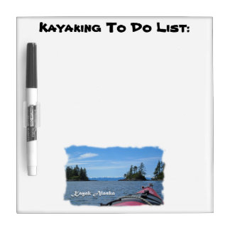 Kayak Alaska Dry-Erase Board