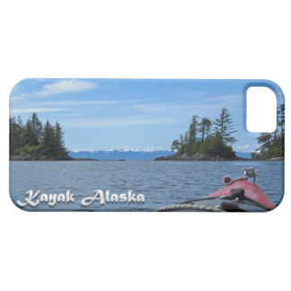 Kayak Alaska Mountains Red Sea Kayak iPhone SE/5/5s Case