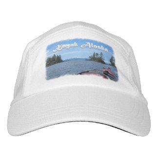 Kayak Alaska to Snow tipped Mountains Template Headsweats Hat