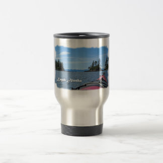 Kayak Alaska Travel Mug