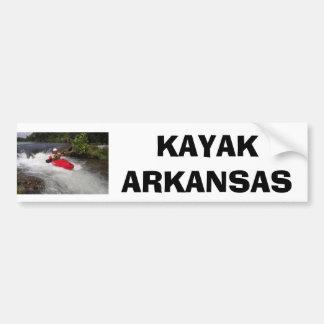 Kayak Arkansas Bumper Stickers