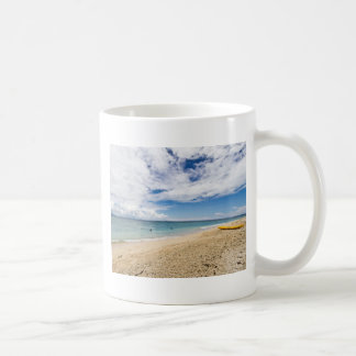 Kayak at South Sea Island, Fiji Coffee Mug