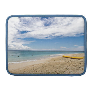 Kayak at South Sea Island, Fiji MacBook Pro Sleeve