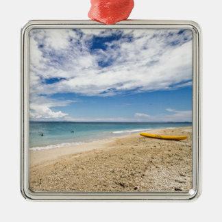 Kayak at South Sea Island, Fiji Metal Ornament