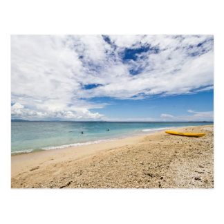 Kayak at South Sea Island, Fiji Postcard