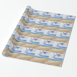 Kayak at South Sea Island, Fiji Wrapping Paper