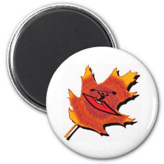 Kayak Autumns Splendor 2 Inch Round Magnet