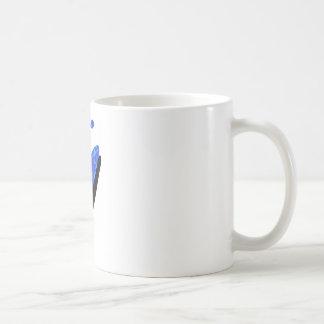 Kayak azul australis coffee mugs
