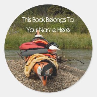 Kayak Balance; Mailing Necessities Sticker