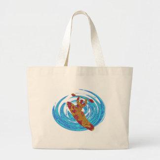 Kayak Basic Love Large Tote Bag