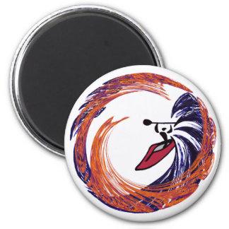 kayak Best Better 2 Inch Round Magnet