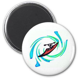 Kayak Best of 2 Inch Round Magnet
