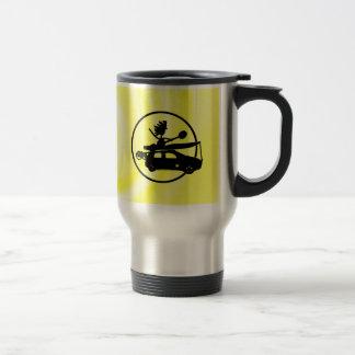 Kayak Bike Car - Zoom Gifts 15 Oz Stainless Steel Travel Mug